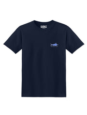 Never Idle Tropical Crew Tee - Nice Aft