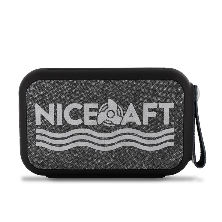 Nice Aft Logo Wireless Bluetooth Water-Resistant Speaker - Nice Aft