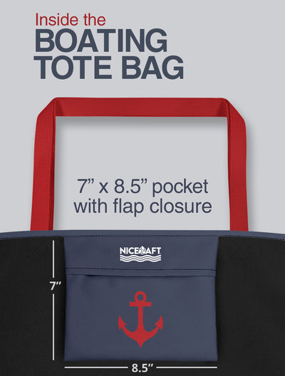 Personalized Boating Tote Bag