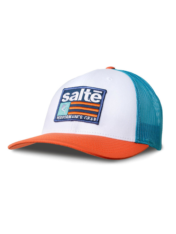 Fishing Trucker Hat | Saltē Hawaiian Hat - Nice Aft