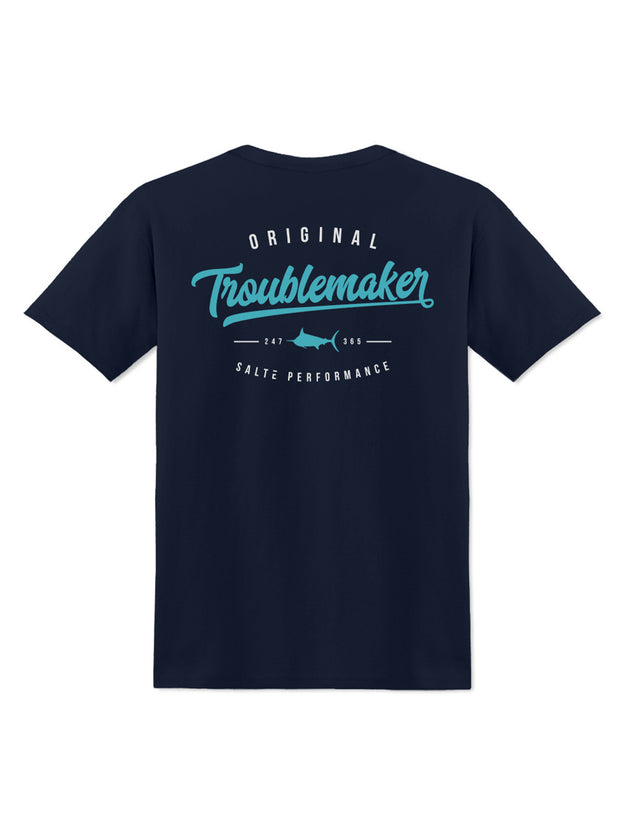 Saltē Fishing Troublemaker Crew Tee