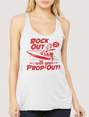 Rock Out With Your Prop Out! Women's Tank Top
