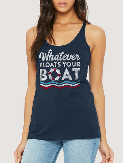Whatever Floats Your Boat Women's Tank Top