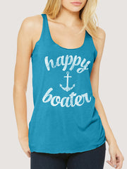 Happy Boater Women's Tank Top