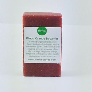Artisan Handmade Soap - Blood Orange Bergamot -  Organic Ingredients