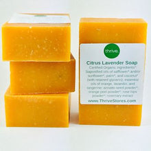 Artisan Handmade Soap - Citrus Lavender - Organic Ingredients