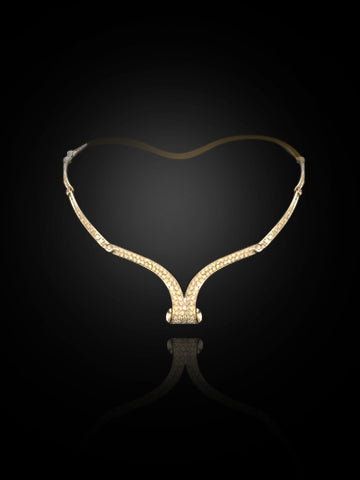 Scavia Necklace ( Diamonds )