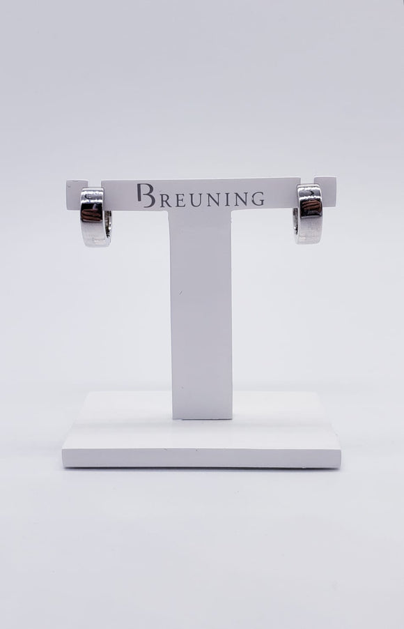 Breuning Silver Earrings 1