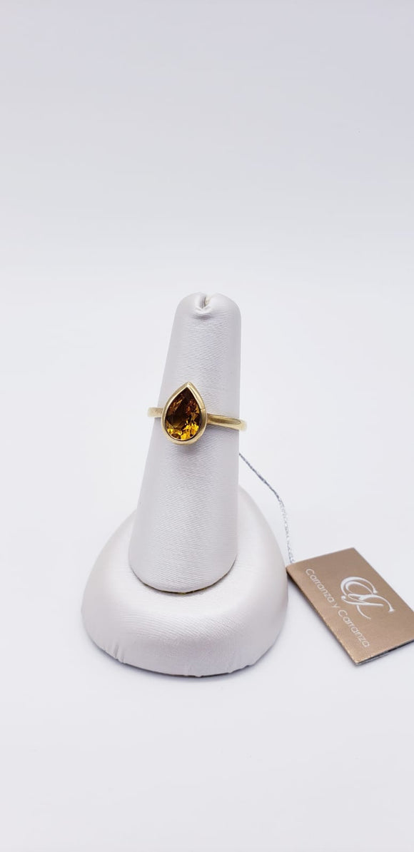Breuning Ring ( Citrine )
