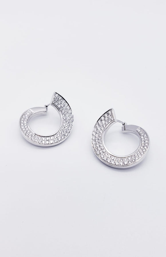 Charles Garnier Earrings ( Diamonds )