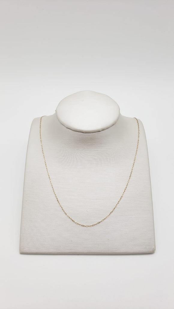 Stuller Necklace 17 ( yellow gold )
