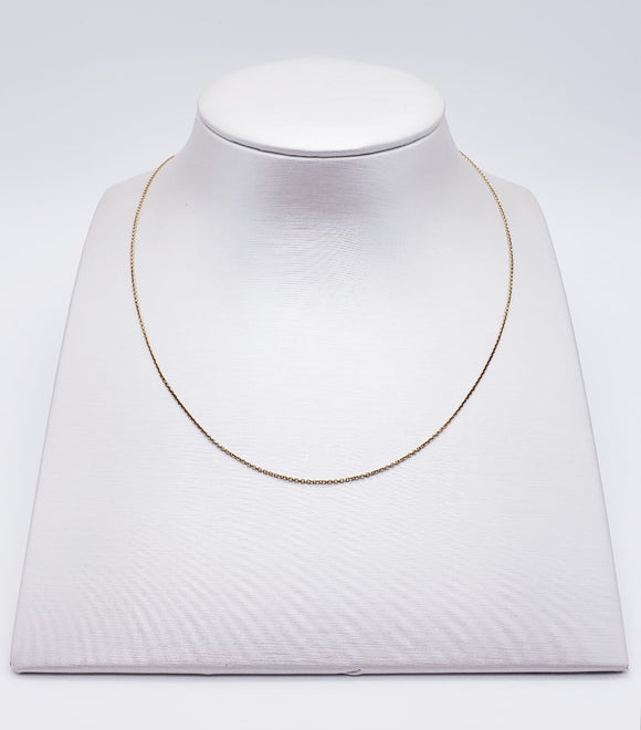 Stuller Necklace 14 ( yellow gold )