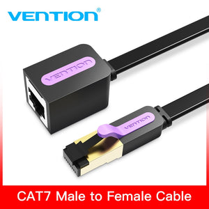 Vention Ethernet Cable RJ45 Cat 7 Extender Cable Male to Female Lan Network Extension Cable 1m 1.5m 2m 3m 5m Cord for PC Laptop