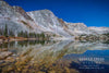 """Lake Marie in Moonlight, Snowy Range, Wyoming"" Fine Art Photographic Print - Seneca Creek Studios"