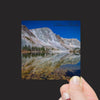 """Lake Marie in Moonlight, Snowy Range, Wyoming"" Mini Metal Print - Seneca Creek Studios"