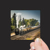 """Historic Steam Locomotive Train #844 in Laramie, Wyoming"" Mini Metal Print - Seneca Creek Studios"
