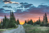 """The Promise of Wyoming Dirt Road Sunrises"" Fine Art Photographic Nature and Landscape Prints by Allison Pluda 