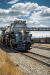 Union Pacific Steam Locomotive Train Big Boy No. 4014 Leaving Laramie, Wyoming - Seneca Creek Studios