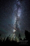"""The arm of the Milky Way on a New Moon in Wyoming"" Fine Art Photographic Print by Allison Pluda 