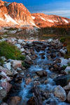 """Lake Marie Falls Sunrise, Wyoming"" Fine Art Photographic Nature and Landscape Prints by Allison Pluda 