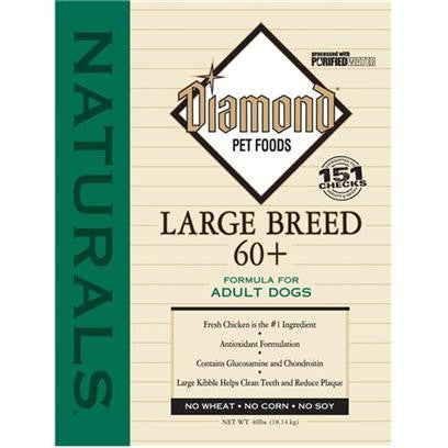 Diamond Naturals Large Breed 60+ Dog Food