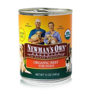 Newman's Own Organics Beef Canned Dog Food (12 Cans)