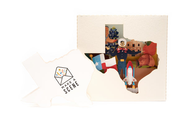 Big Tex Pop Up Card *NEW RELEASE*