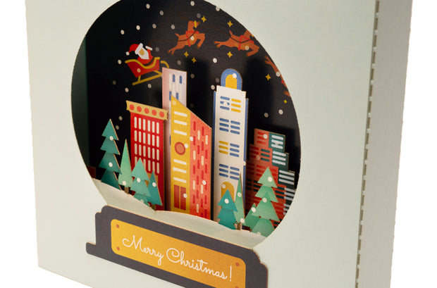 Snow Globe Pop-Up Card *NEW RELEASE* 1