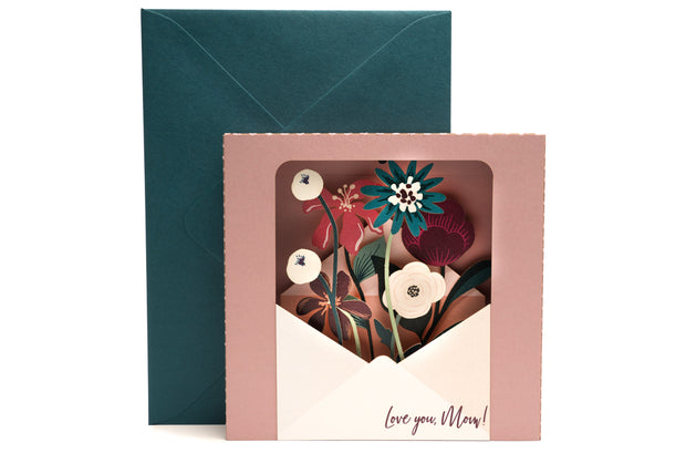 Mother's Day Bouquet Pop Up Card *RELEASE* 1