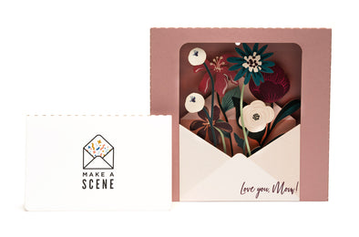 Mother's Day Bouquet Pop Up Card *RELEASE*