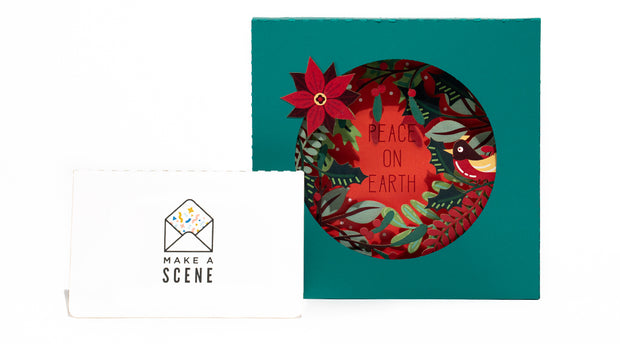 Peace on Earth Pop Up Card *NEW RELEASE* 1