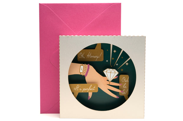 Dazzling Diamond Engagement Pop Up Card *NEW RELEASE* 1