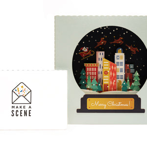 Snow Globe Pop-Up Card *NEW RELEASE*