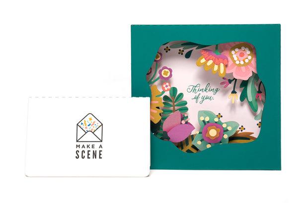 Thinking of You Pop Up Card 1