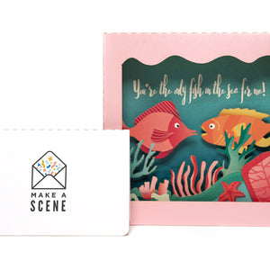 Under the Sea Pop Up Card