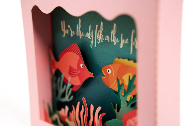 Under the Sea Pop Up Card 1