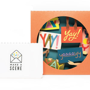 Yay! Pop Up Card