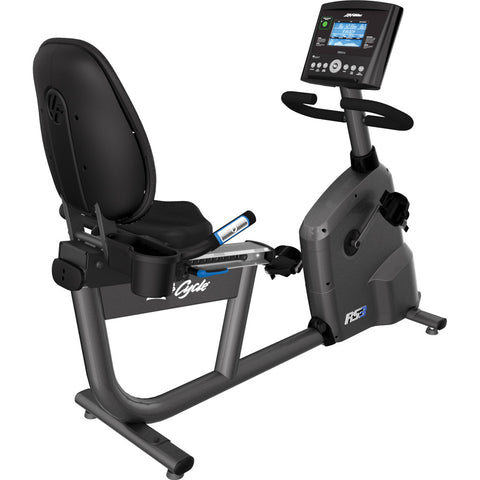 LIFE FITNESS RS3 LIFECYCLE EXERCISE BIKE W/GO CONSOLE