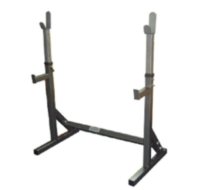 SQUAT STANDS W/CROSS BAR SUPPORT