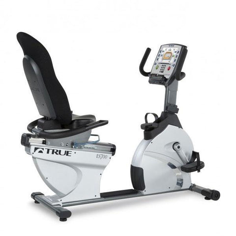 TRUE ES700 RECUMBENT BIKE W/EMERGE CONSOLE