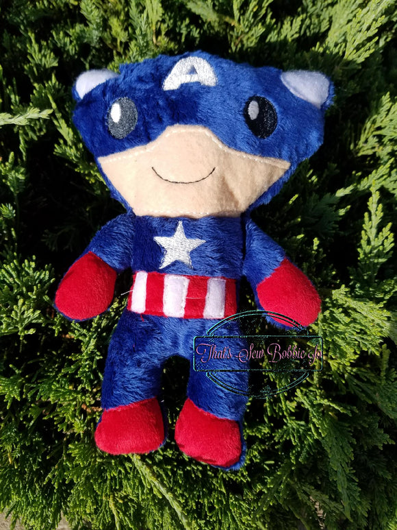 Captain America Softie stuffed doll