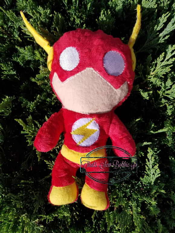 The Flash Softie stuffed doll