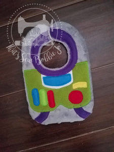 Newborn Buzz Lightyear Bib