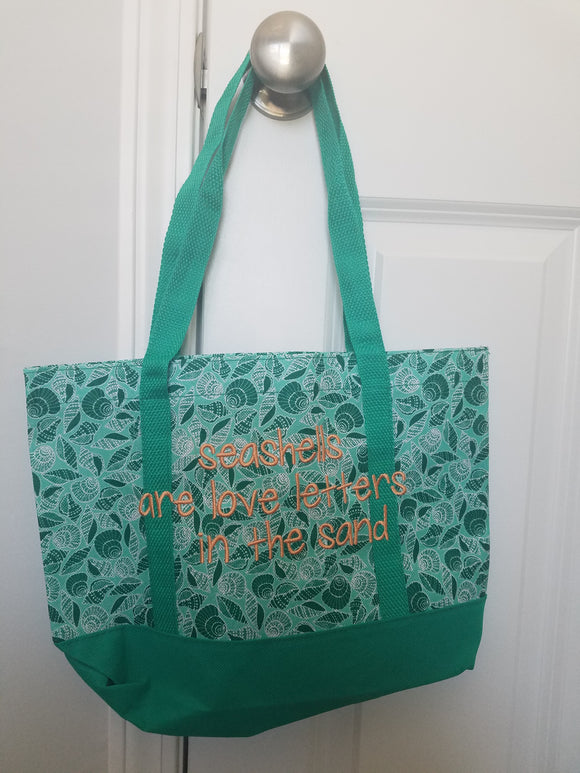 Personalized Beach totes