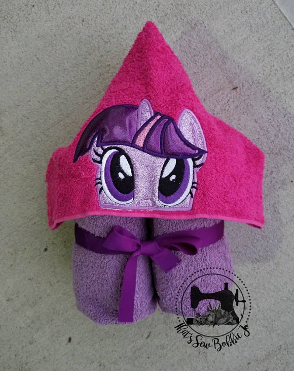 Hooded Towel - Twilight Sparkle