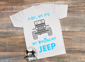 A girl and her Jeep Shirt