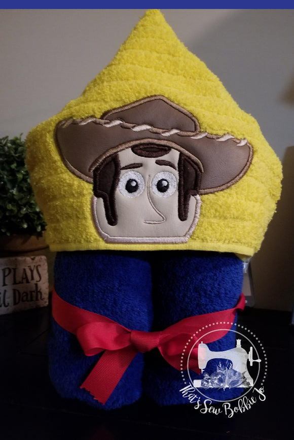 Hooded Towel - Woody