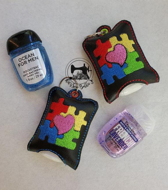 Puzzle Hand Sanitizer Case + Bath & Body Works Hand Sanitizer