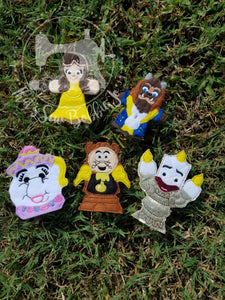 Beauty and the Beast Finger Puppets