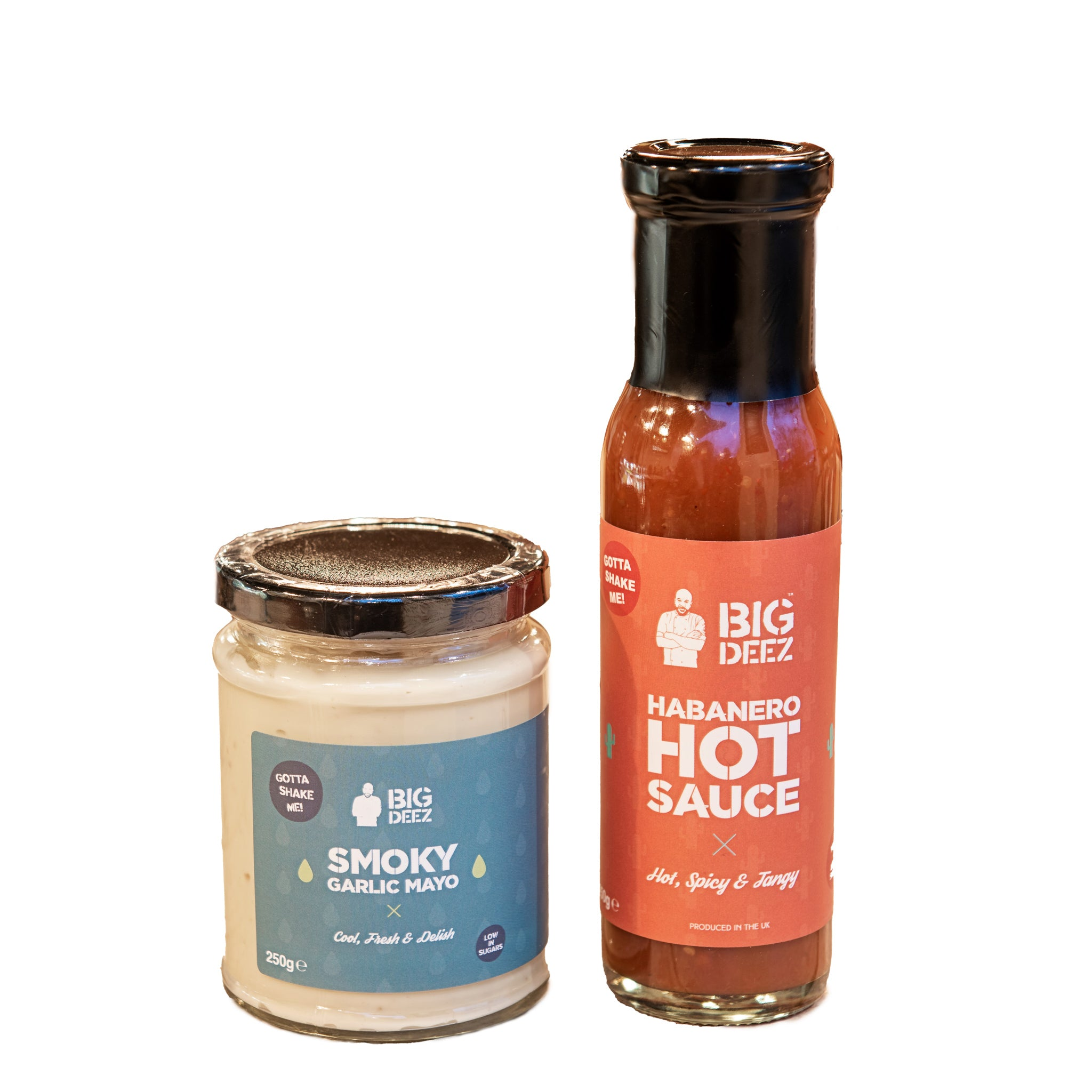 Big Deez Hot Sauce & Smoky Garlic Mayo